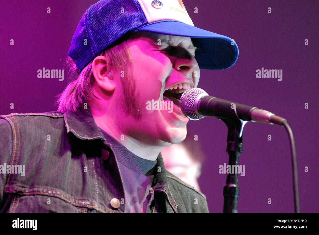 Patrick Stump Fall Out Boy Performing Live At The Honda Motor Corporation Headquarters Torrance California