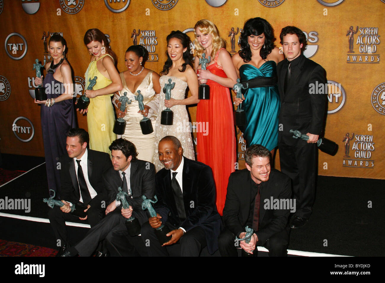 Cast of Grey\'s Anatomy 13th Annual Screen Actors Guild Awards ...