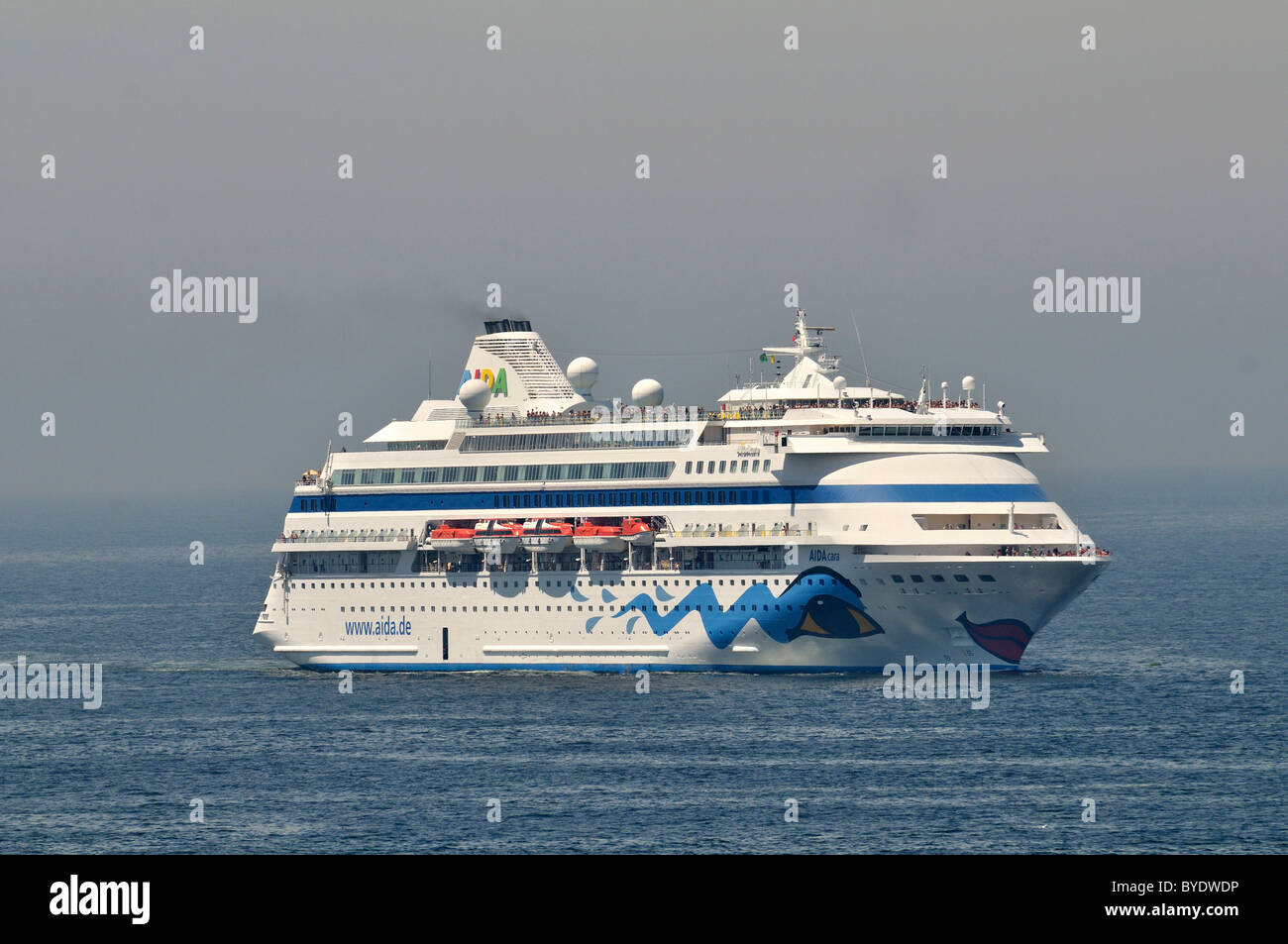 Cruise ship of the German company AIDA Cruises, Rio de Janeiro, Brazil, South America - Stock Image