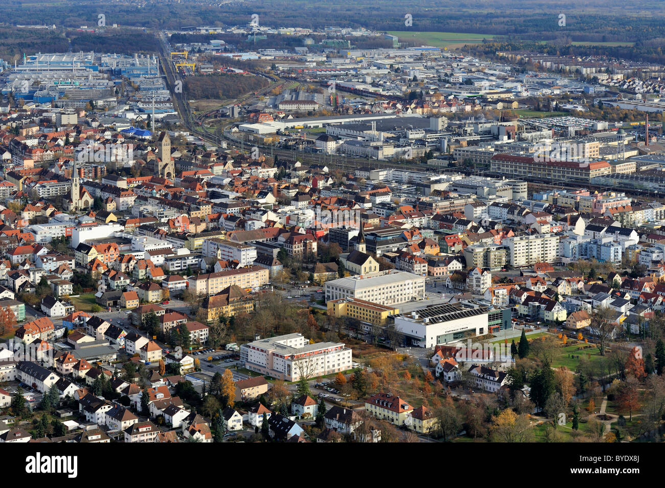 view over the city of singen am hohentwiel konstanz district stock photo 34112082 alamy. Black Bedroom Furniture Sets. Home Design Ideas