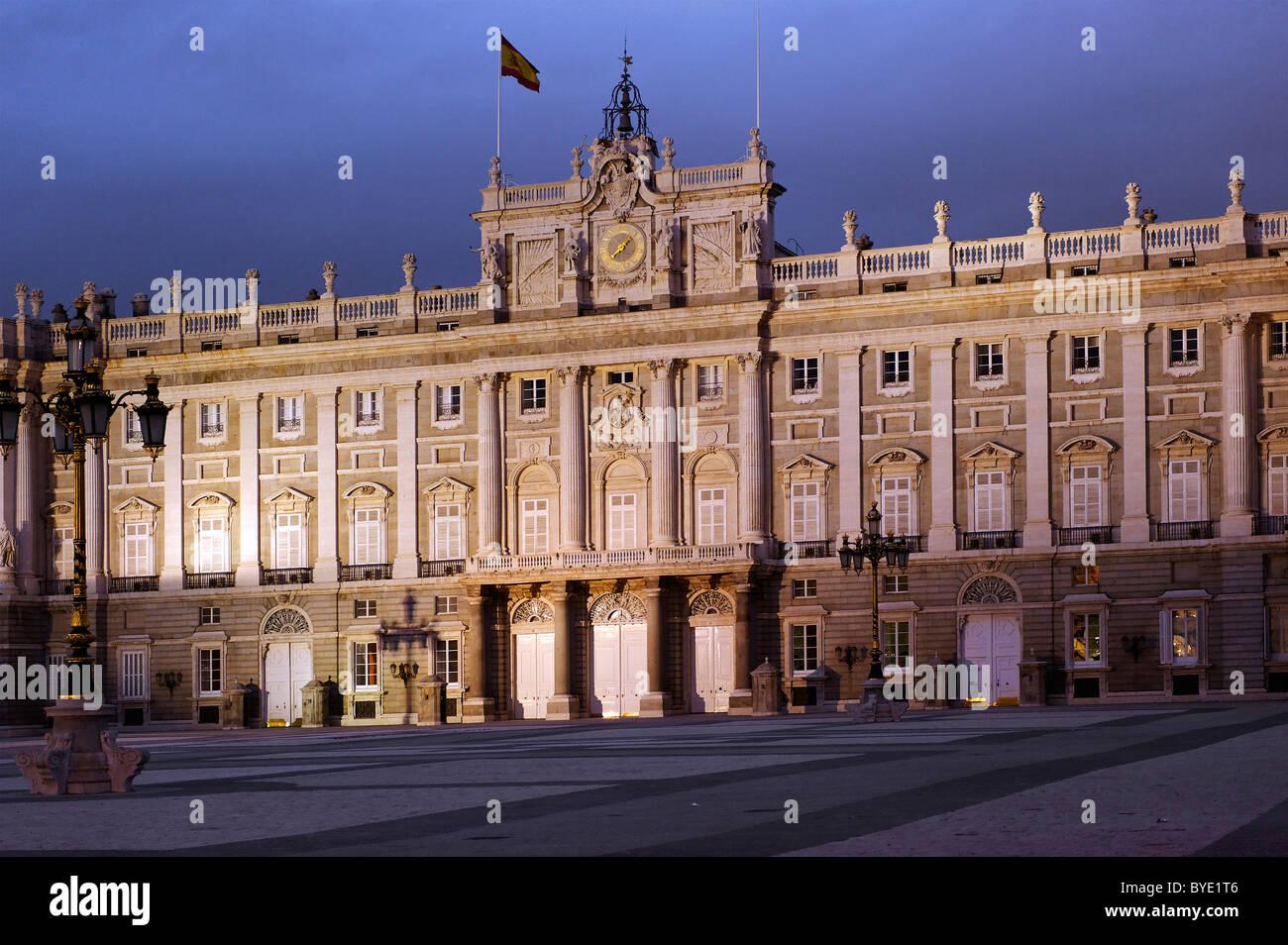 Palacio Real, Royal Palace, Madrid, Spain, Europe - Stock Image