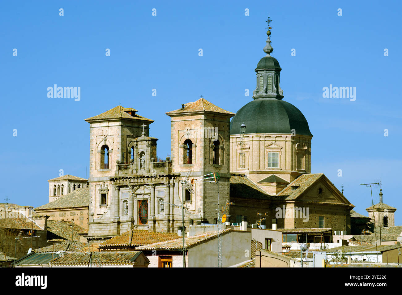 San Ildefonso, Toledo, Castile-La Mancha, Spain, Europe - Stock Image