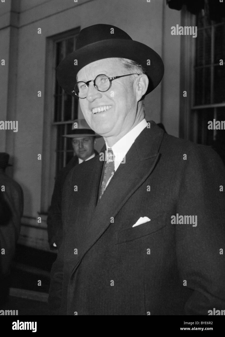 American businessman + political figure Joseph P. Kennedy Sr (1888 - 1969) - father of US President John F. Kennedy - Stock Image