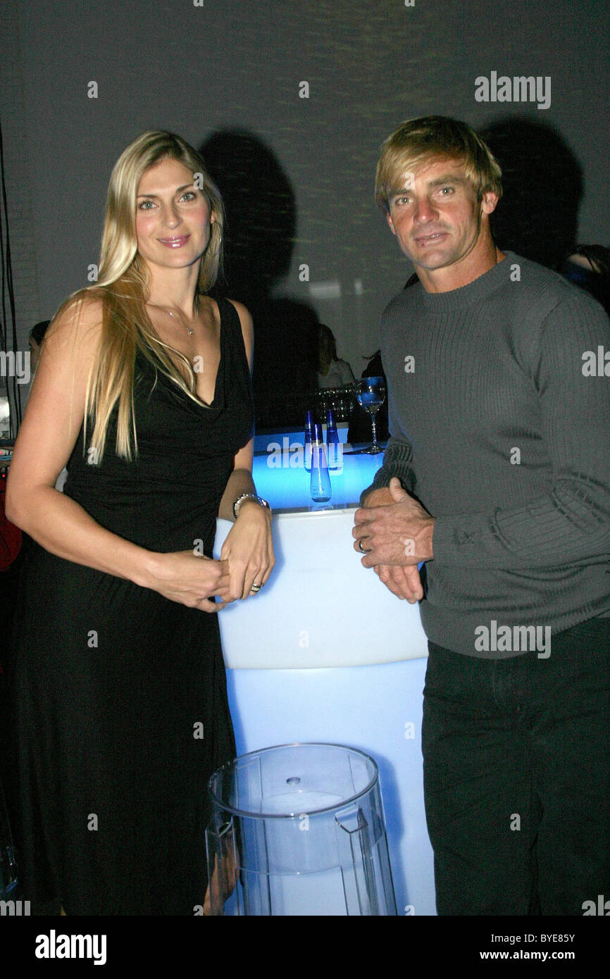 Gabrielle Reese and Laird Hamilton Relaunch of the Davidoff