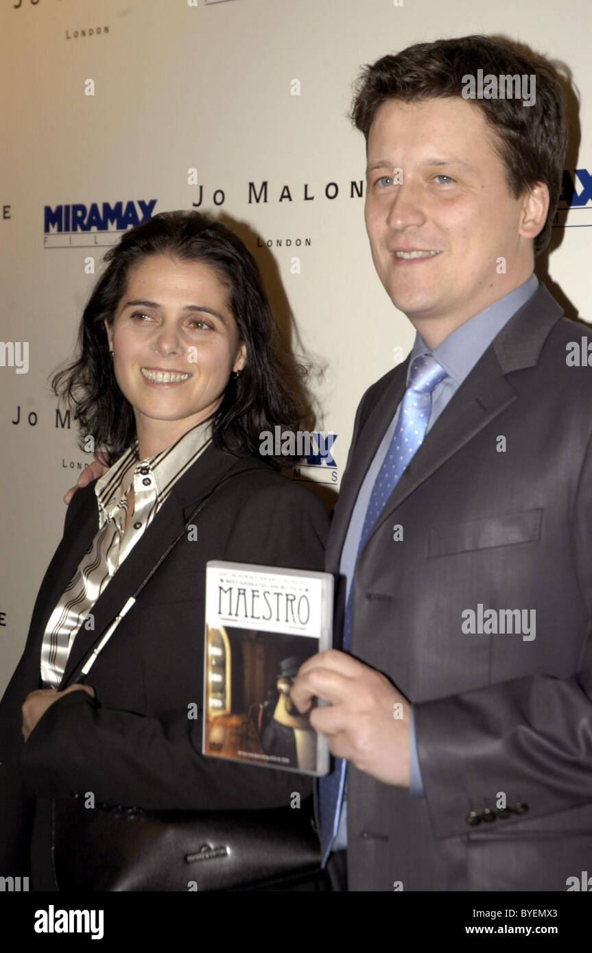 Guests Miramax pre Oscar party at Sunset Towers Hollywood, California - 22.02.07 - Stock Image