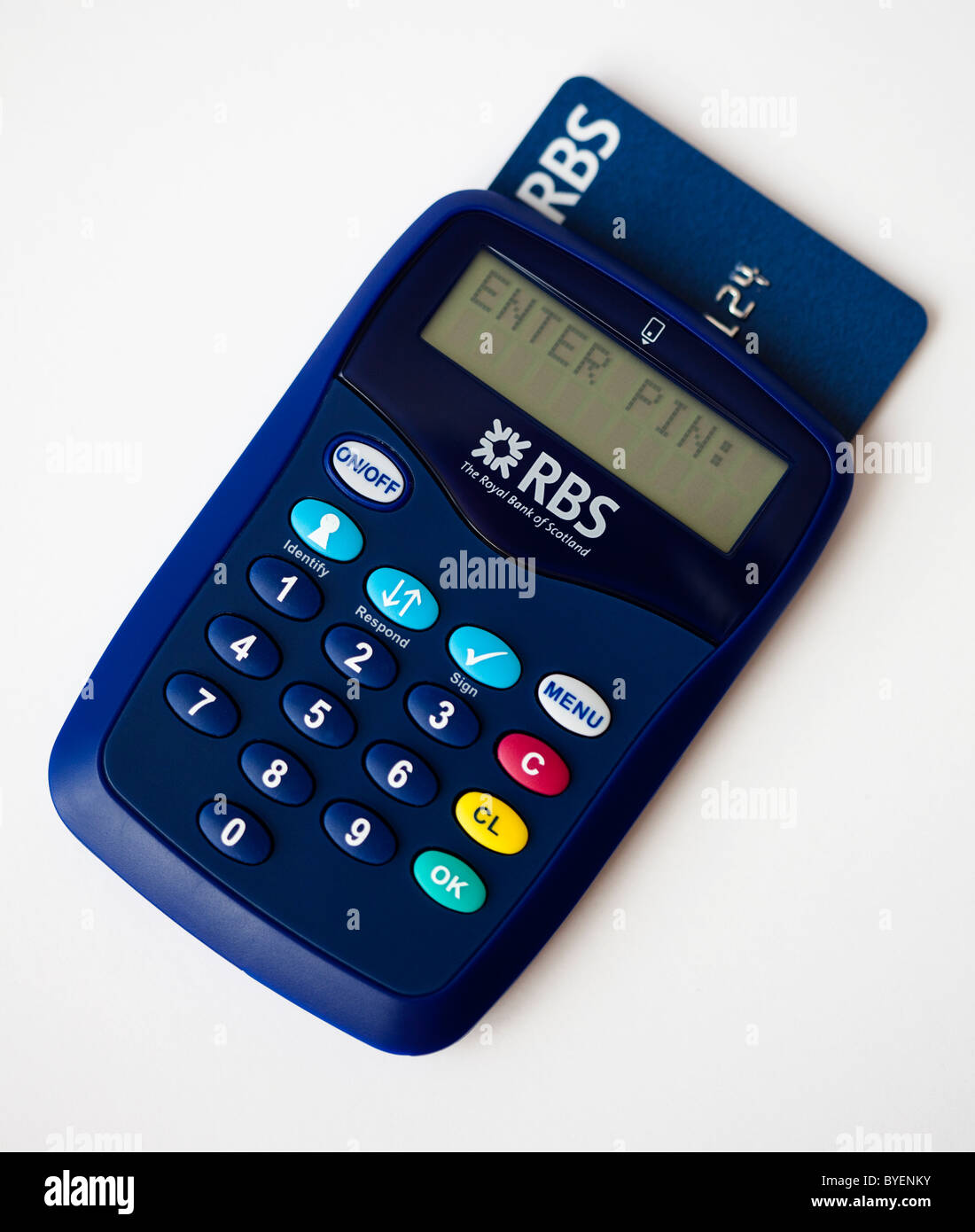 RBS Royal Bank Of Scotland Digital Banking Card-Reader
