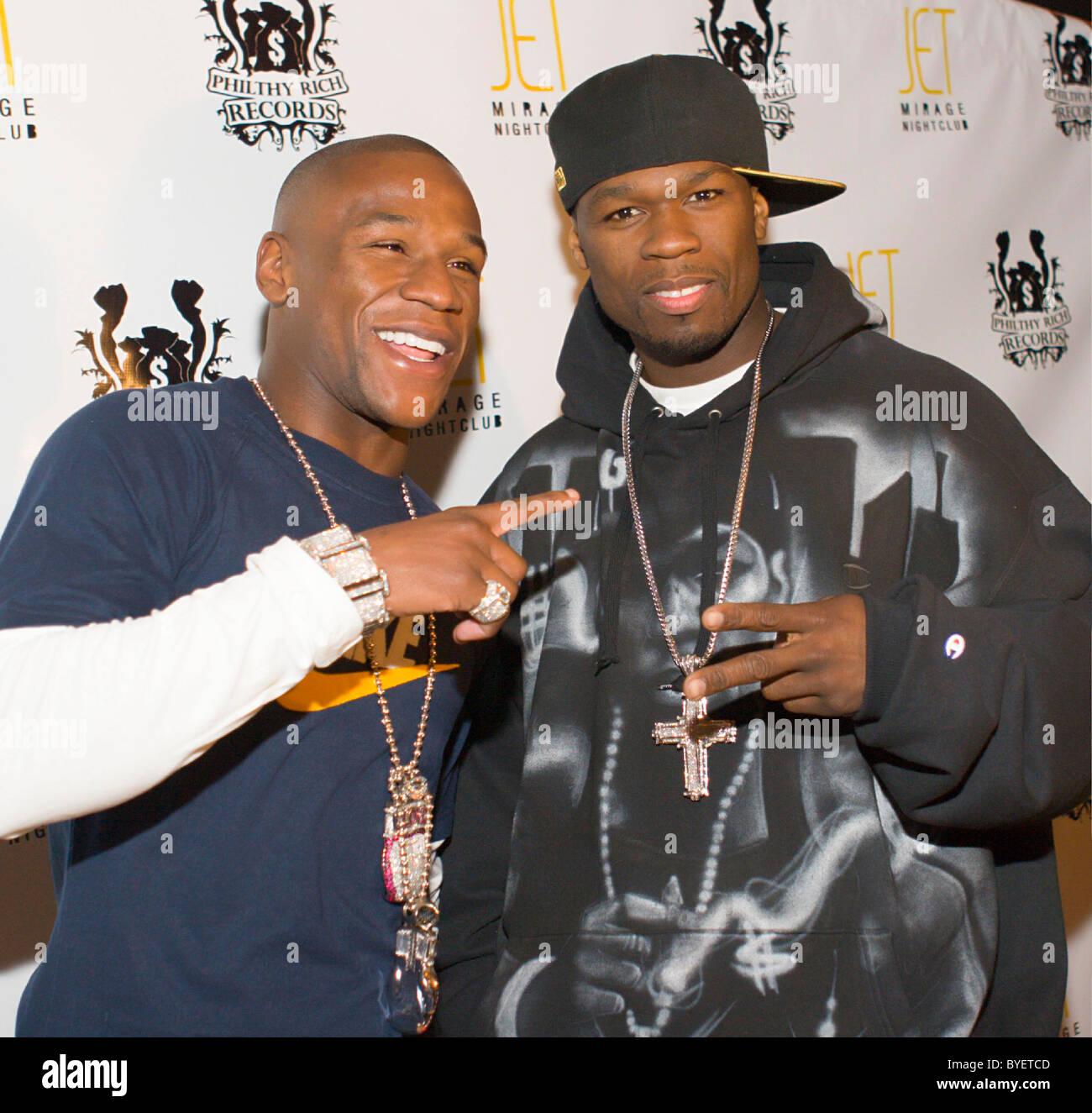 Floyd Mayweather 50 Cent Jet Stock Photos & Floyd Mayweather