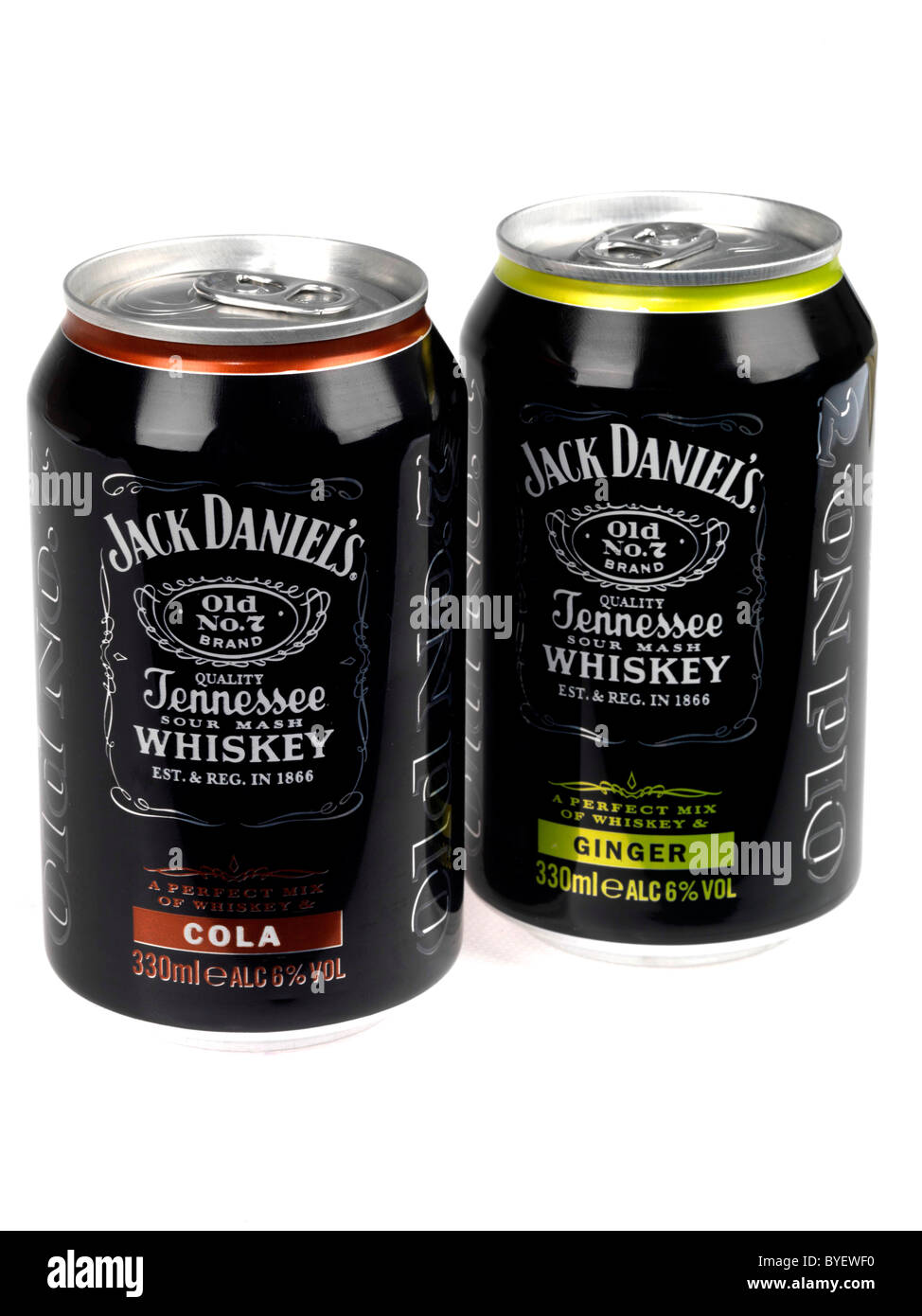 Jack Daniels Whiskey - Stock Image