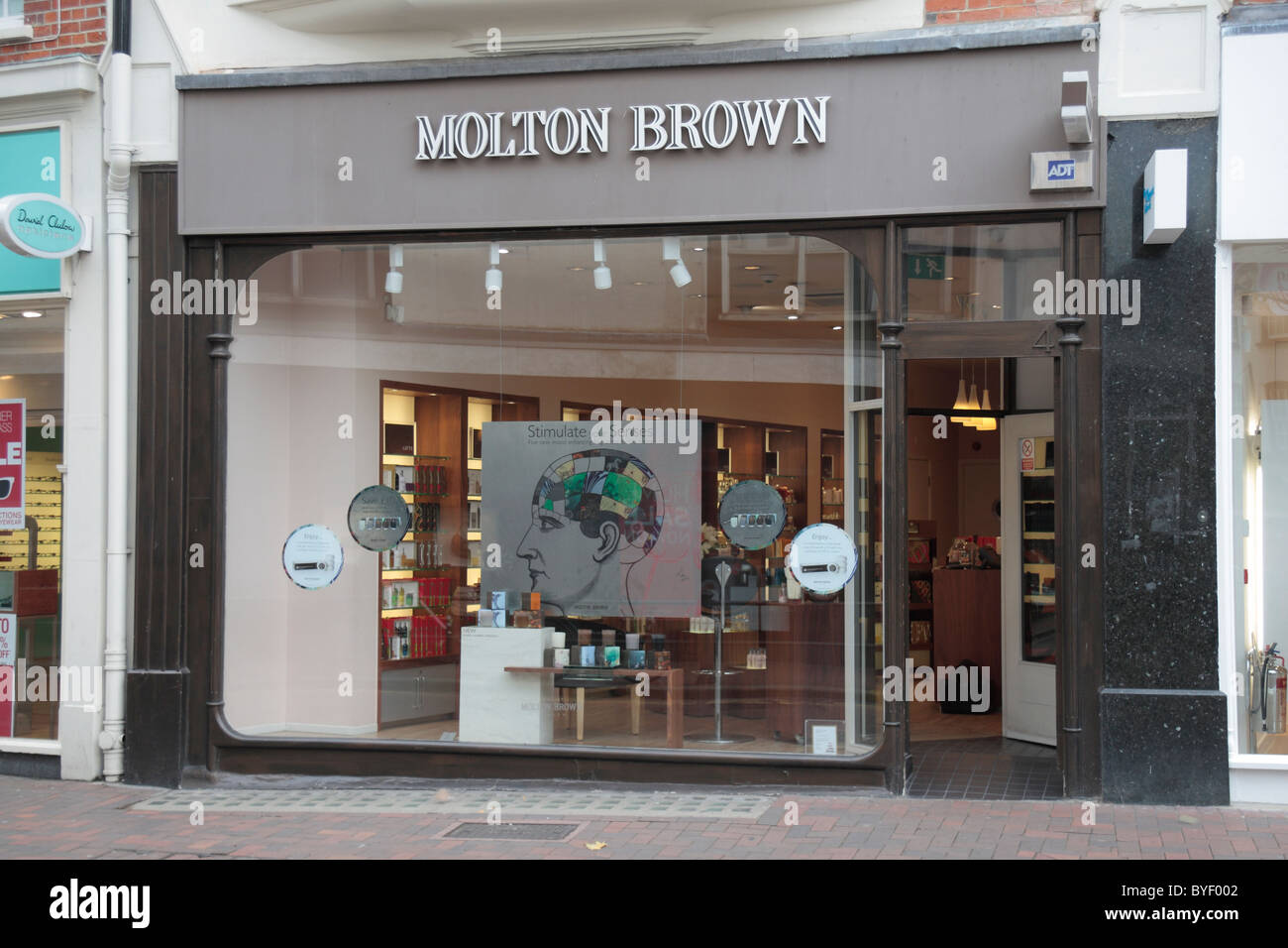 The Molton Brown beauty products store in Richmond Upon Thames, Surrey, UK. - Stock Image