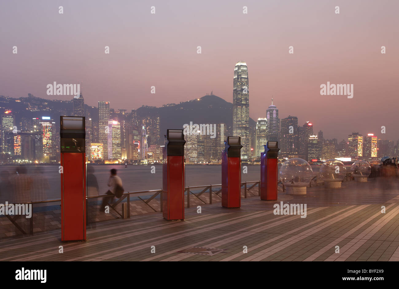 The Avenue of Stars in Hong Kong - Stock Image