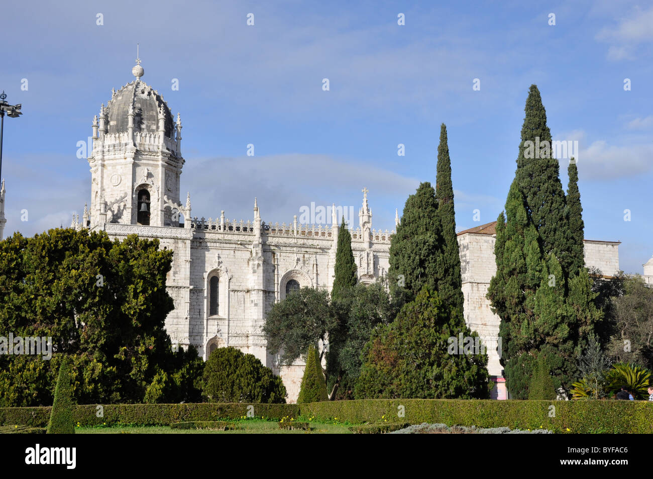 The Monastry , Moistero Dos Jeronimos , Lisbon , Portugal - Stock Image