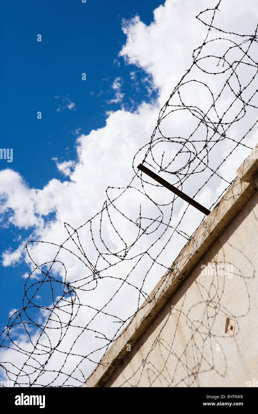 Barbed Wire Fences Stock Photos & Barbed Wire Fences Stock Images ...