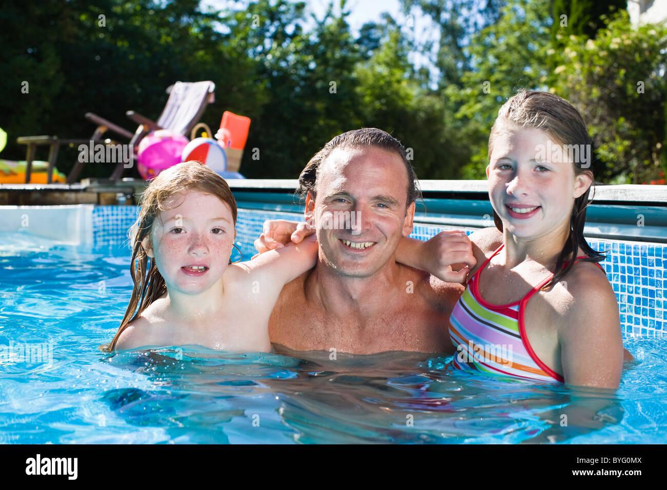 Girls in bikinis stock photos girls in bikinis stock - Swimming pool girl christmas vacation ...