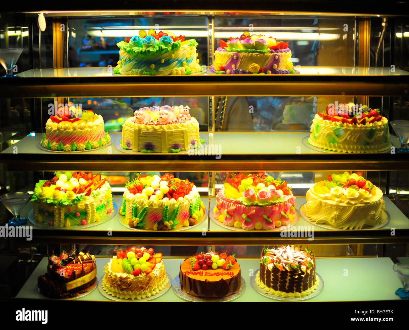 Chinese Cake Shop Stock Photos & Chinese Cake Shop Stock Images - Alamy