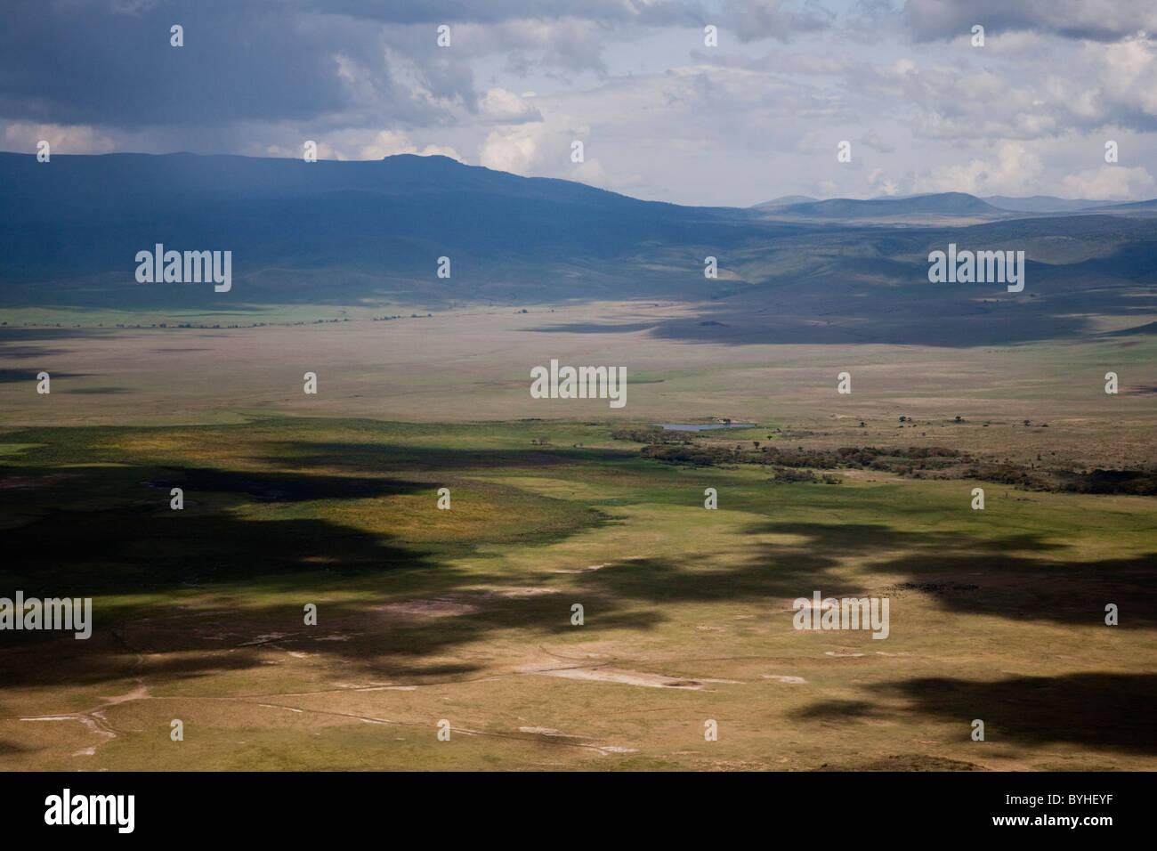 Great Rift Valley landscape, Tanzania, Africa Stock Photo