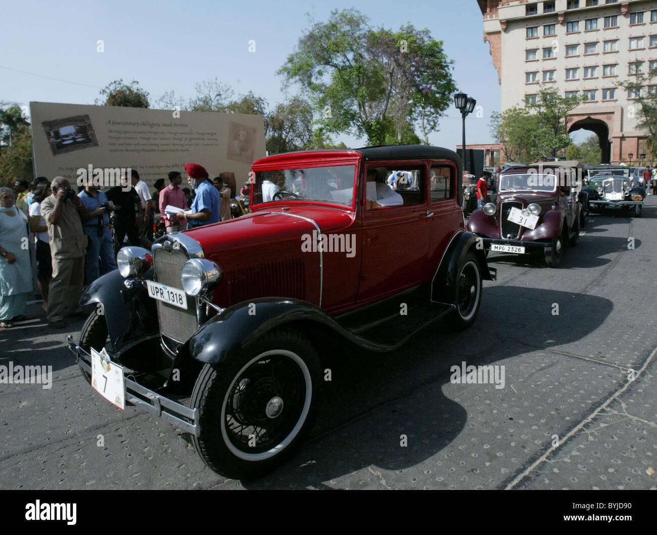 Vintage Car Haig Vintage Rally Stock Photos & Vintage Car Haig ...
