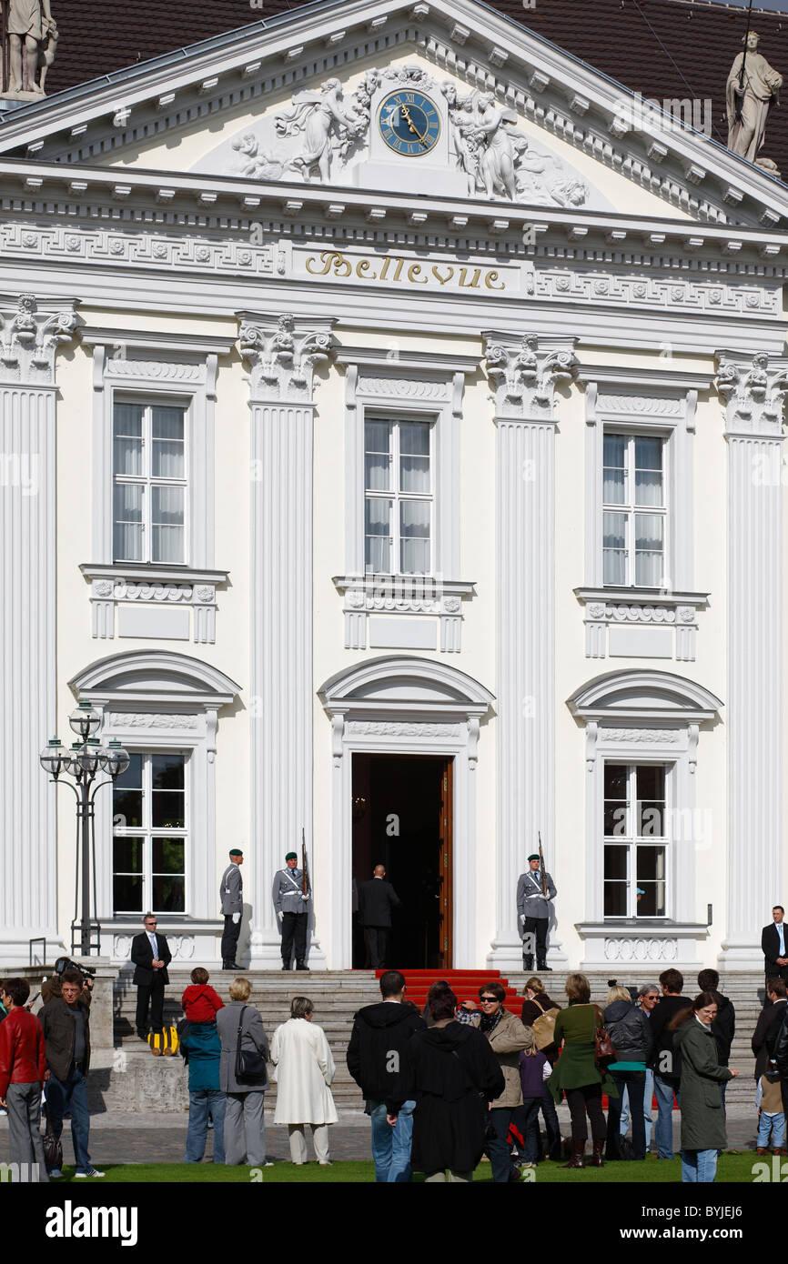 The Open Door Day in Schloss Bellevue, Berlin, Germany - Stock Image