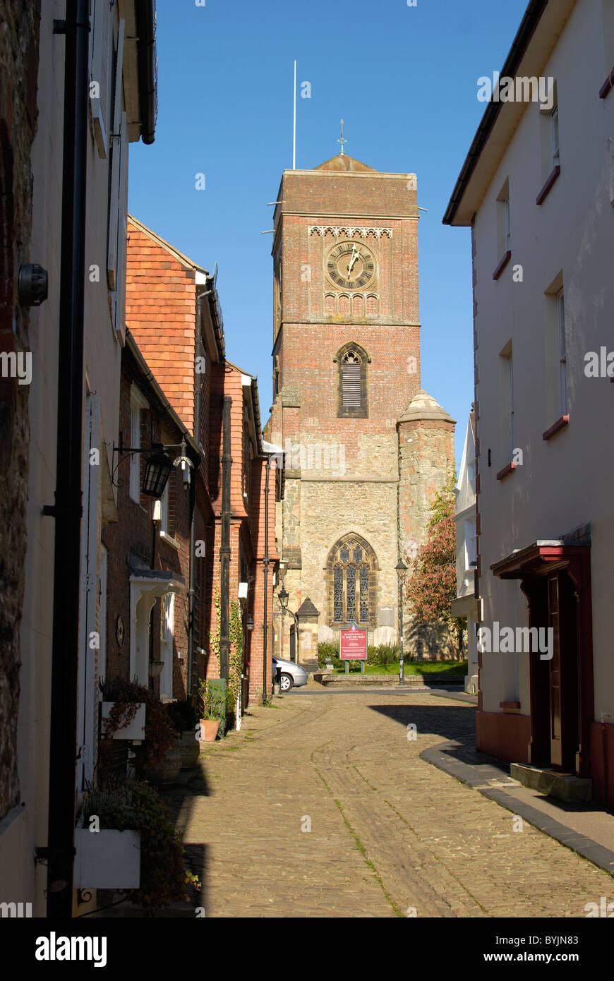 Saint Mary the Virgin Church at Petworth. West Sussex. England - Stock Image