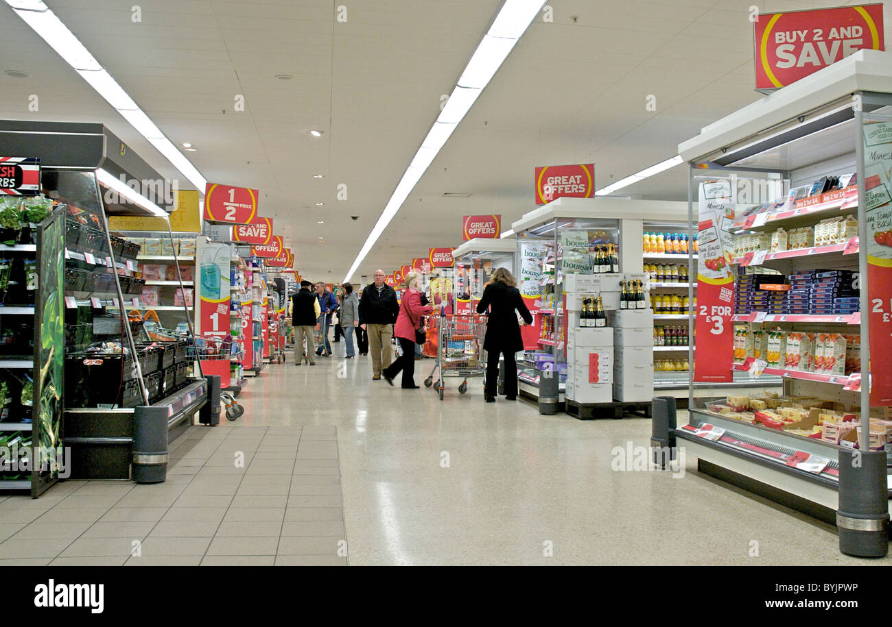 Captivating Interior Of Large Store Showing The Wide Range Of Merchandise Stock Photo:  34219186   Alamy