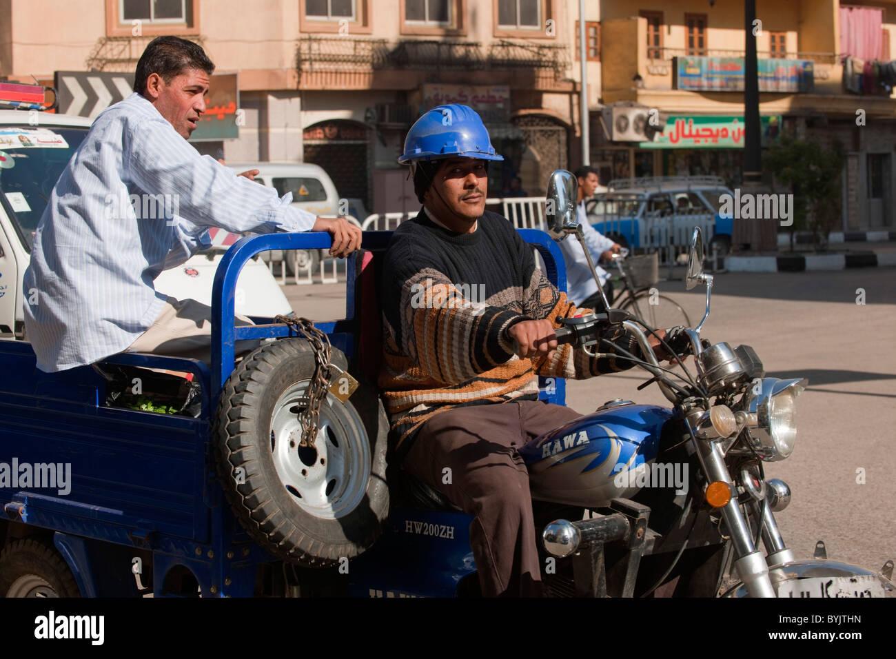 Aegypten, Luxor, Strassenszene Stock Photo: 34220529 - Alamy