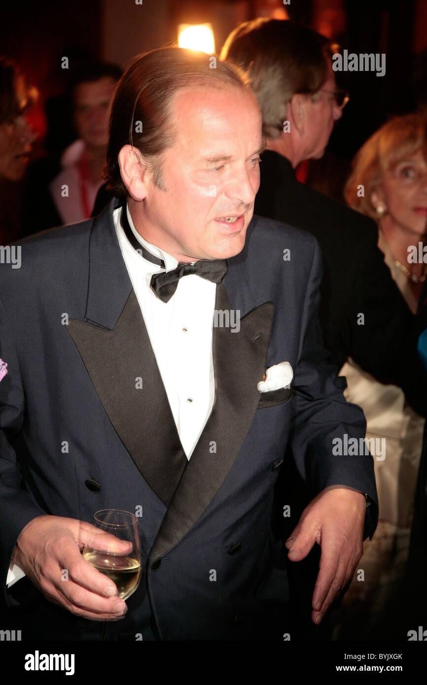 Enno Freiherr von Ruffin,  Henri Nannen Preis awards held at Deichtorhallen Hamburg, Germany - 11.05.07 - Stock Image