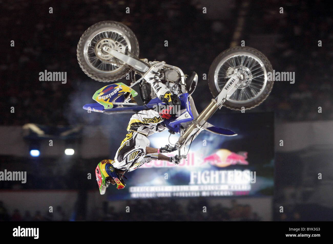 Red Bull X-Fighters These were the scenes in Mexico recently when some of the worlds most renowned and respected - Stock Image