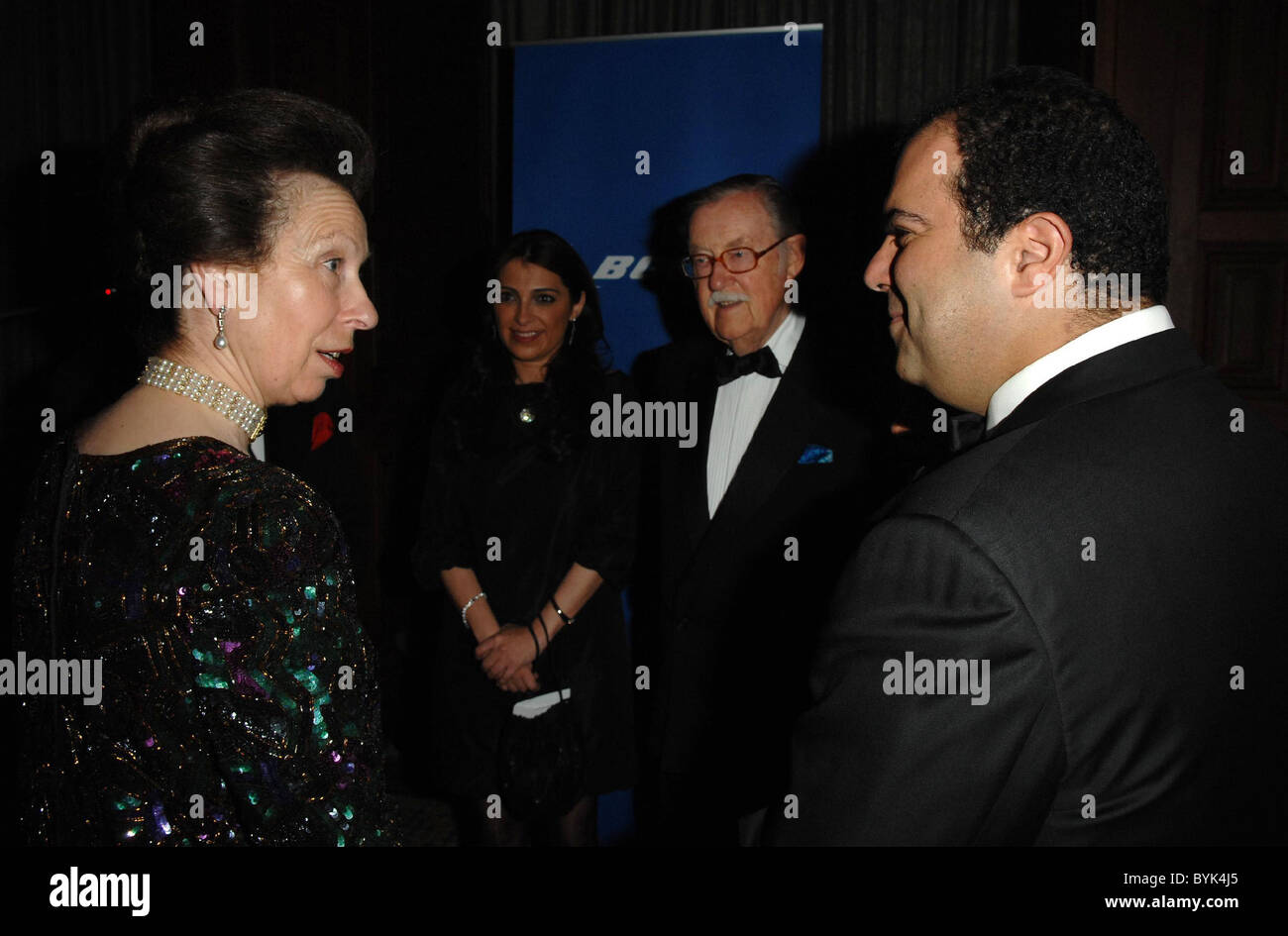 HRH The Princess Royal, Princess Anne, Alan Whicker and Stelios Haji-Ioannou Airline of the Year Awards held at - Stock Image