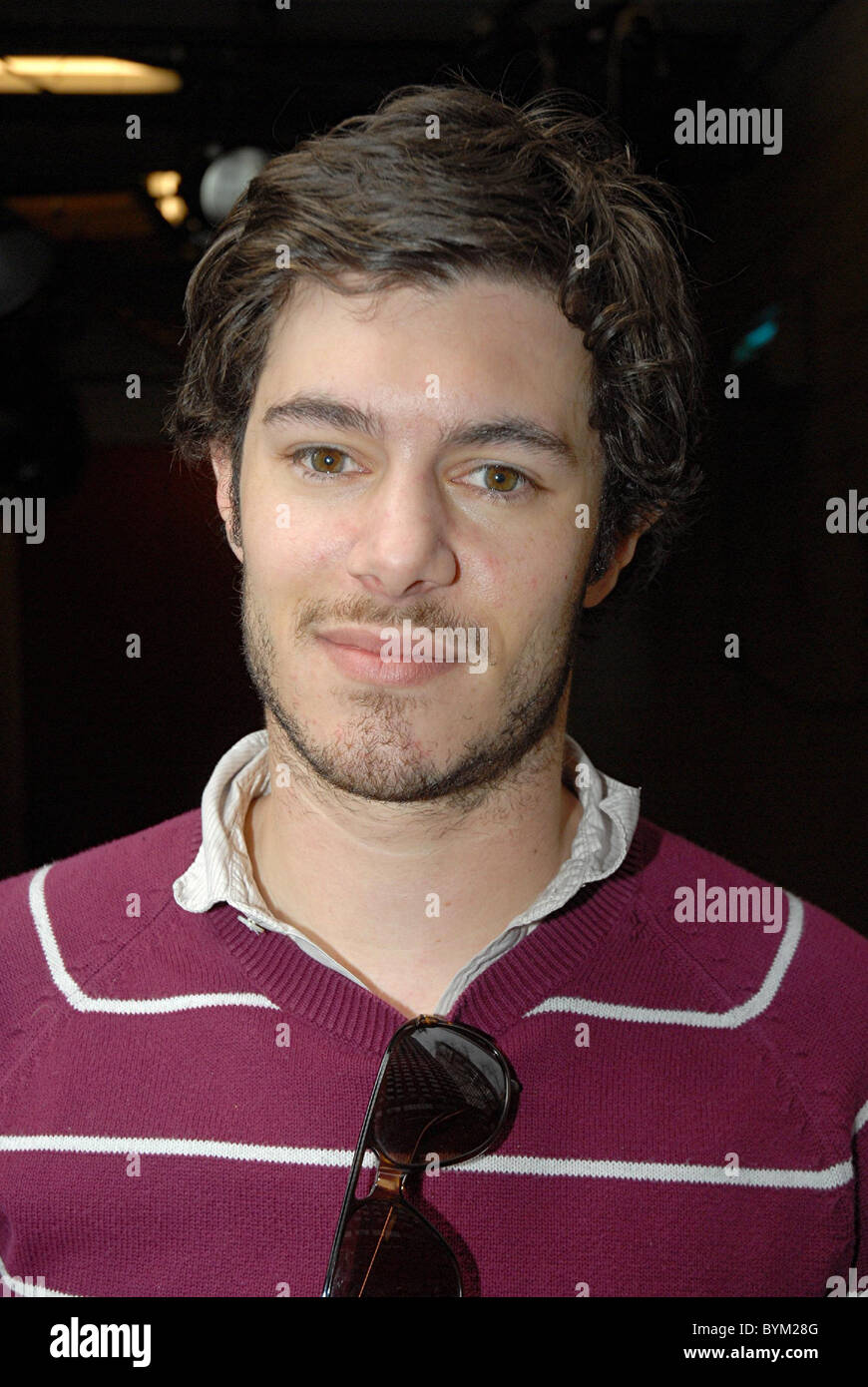 Adam Brody leaves the studio after appearing on 'Live with Regis and Kelly' New York City, USA - 19.04.07 - Stock Image