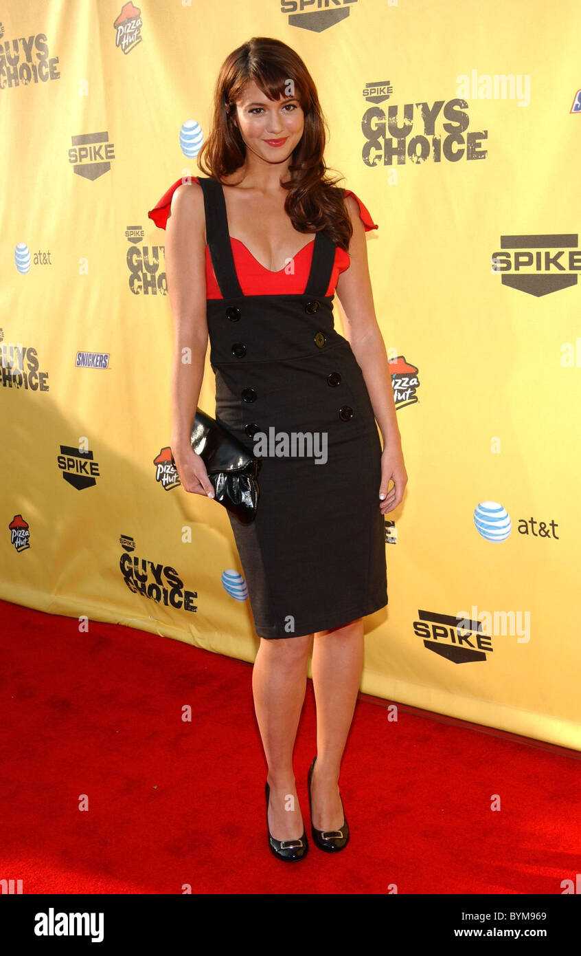 "Mary Elizabeth Winstead First Annual Spike TV's ""Guy Choice"" Awards held at  Radford Studios Los Angeles, California - 09.06.07"