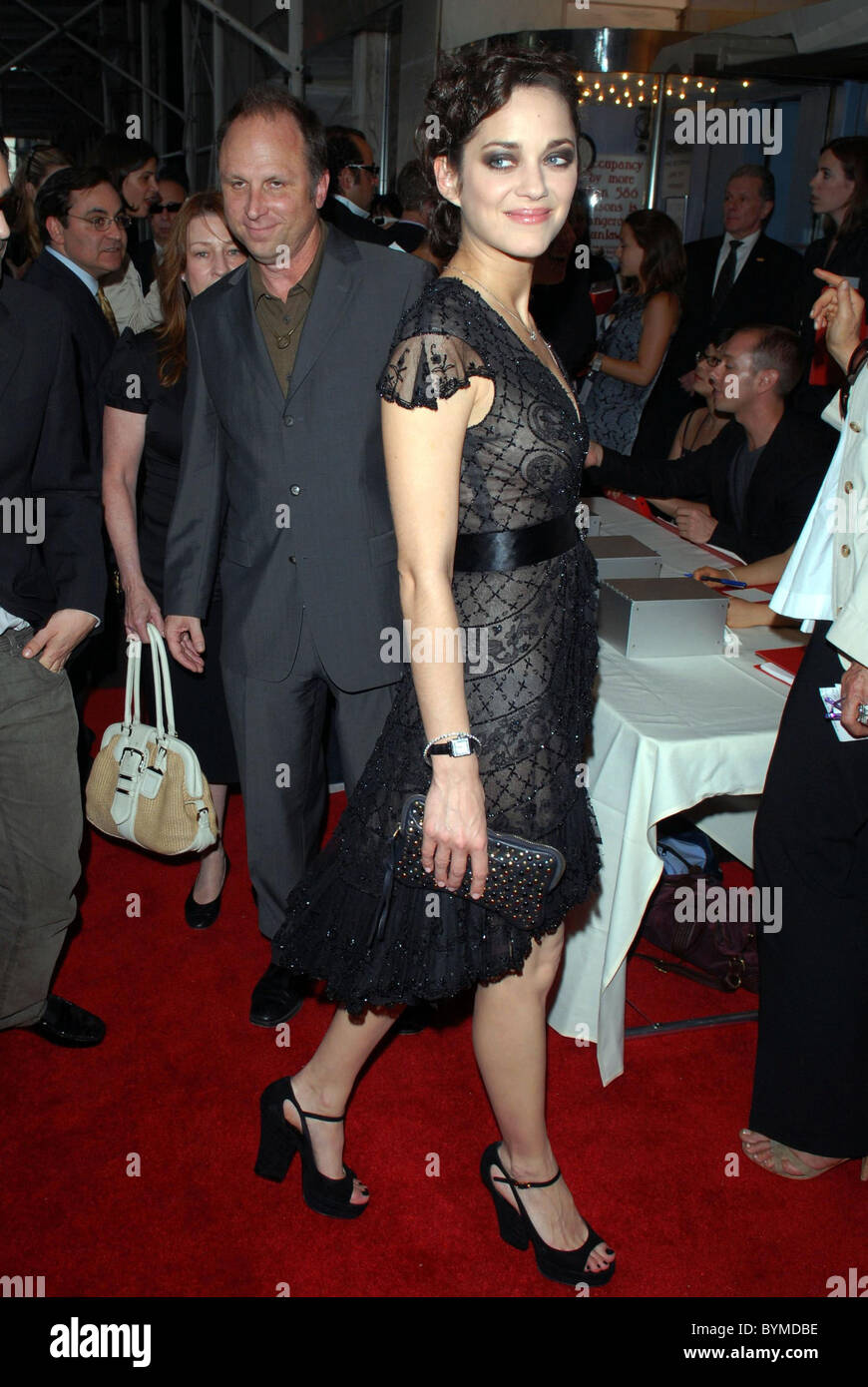 Marion Cotillard Premiere Of La Vie En Rose Held At Paris
