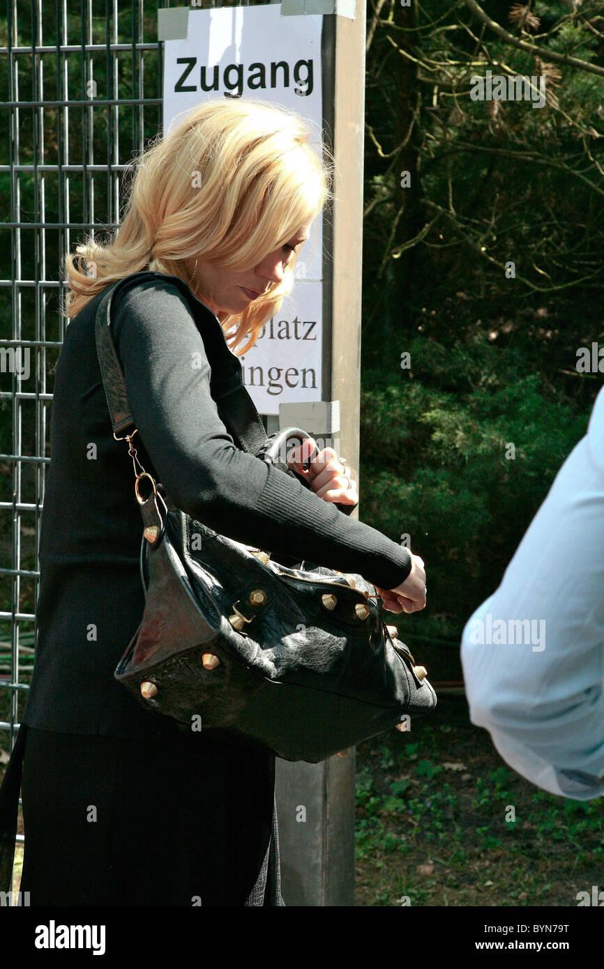 Veronica Ferres,  Deutsche Spring- und Dressur-Derby in Klein-Flottbek  Hamburg, Germany - 20.05.07 - Stock Image