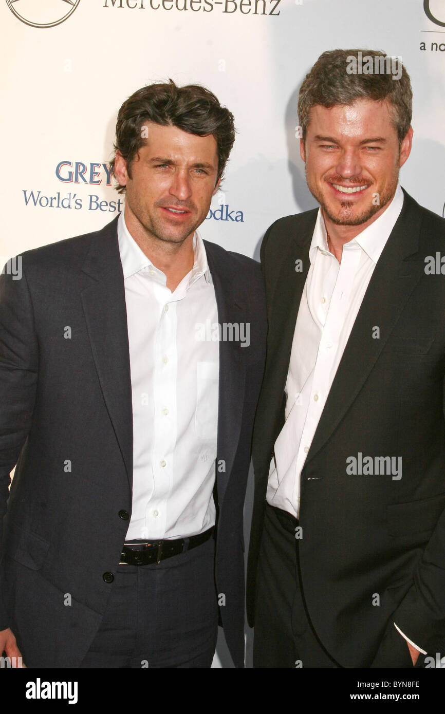 Patrick Dempsey And Eric Dane 2007 Chrysalis Butterfly Ball Held At