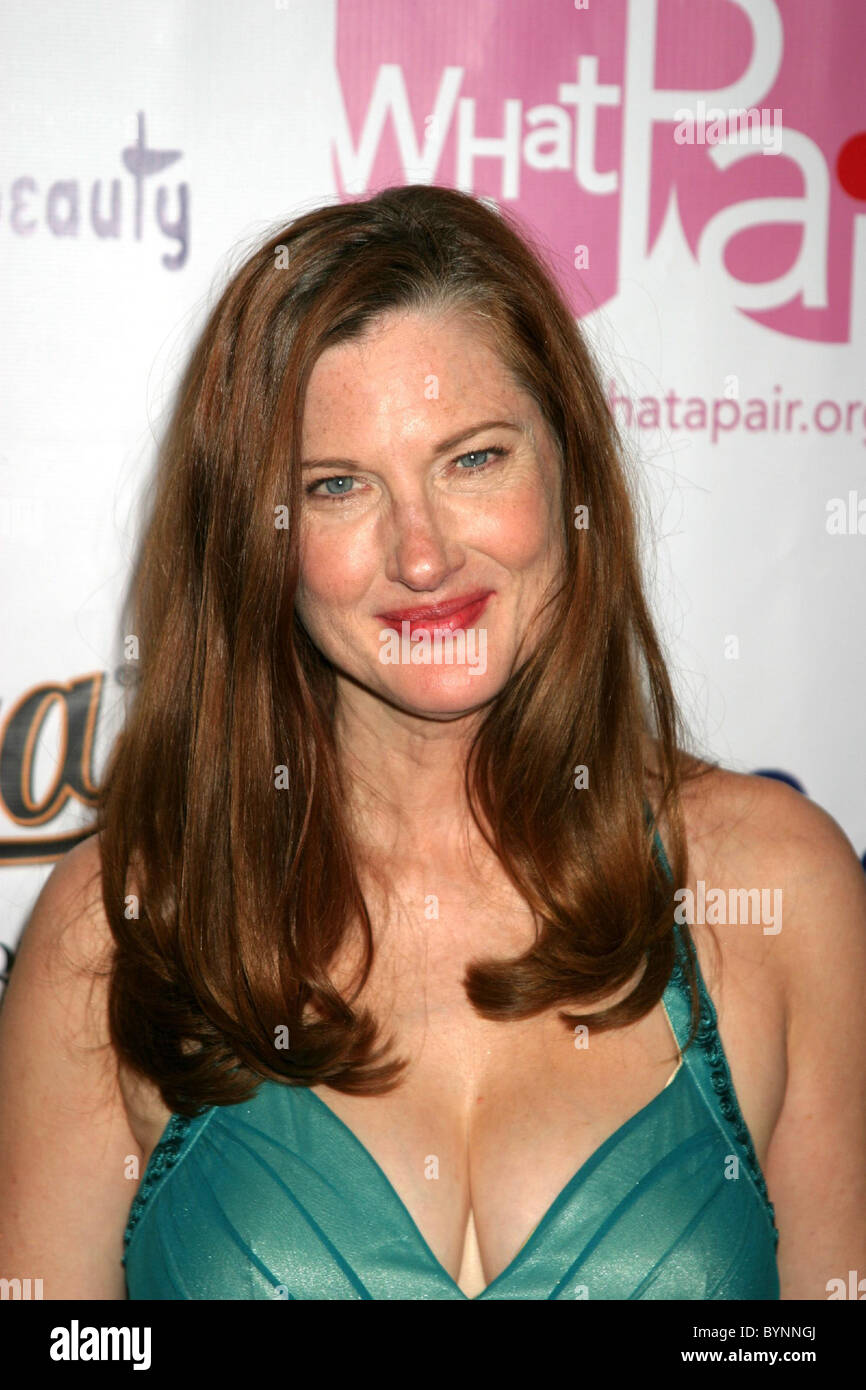 Annette O'Toole 'What A Pair! 5' celebrity concert benefiting the John Wayne Cancer Institute, held at The Orpheum Theatre Los Stock Photo