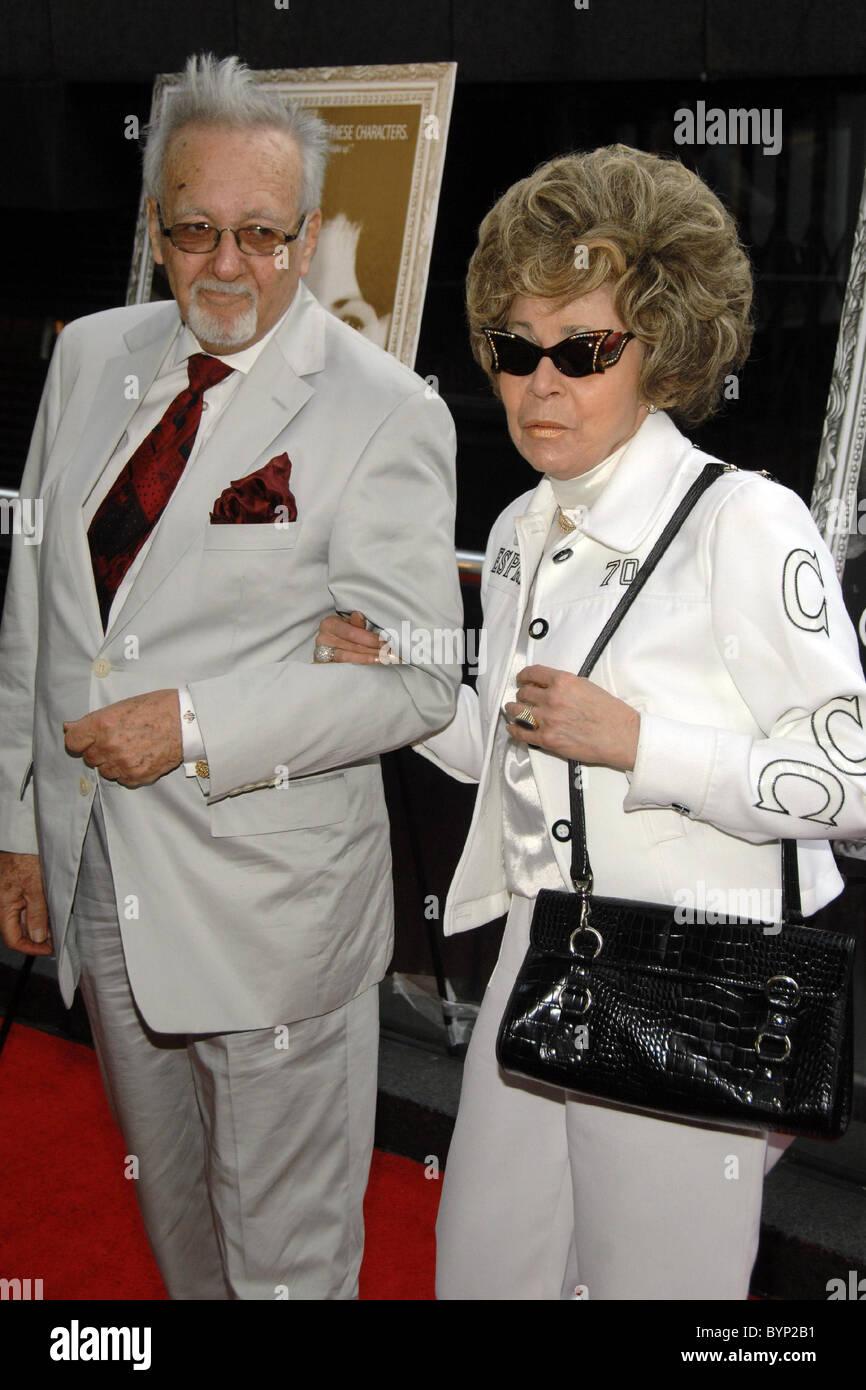 Burt Pugach with wife Linda Pugach New York Premiere of 'Crazy ...