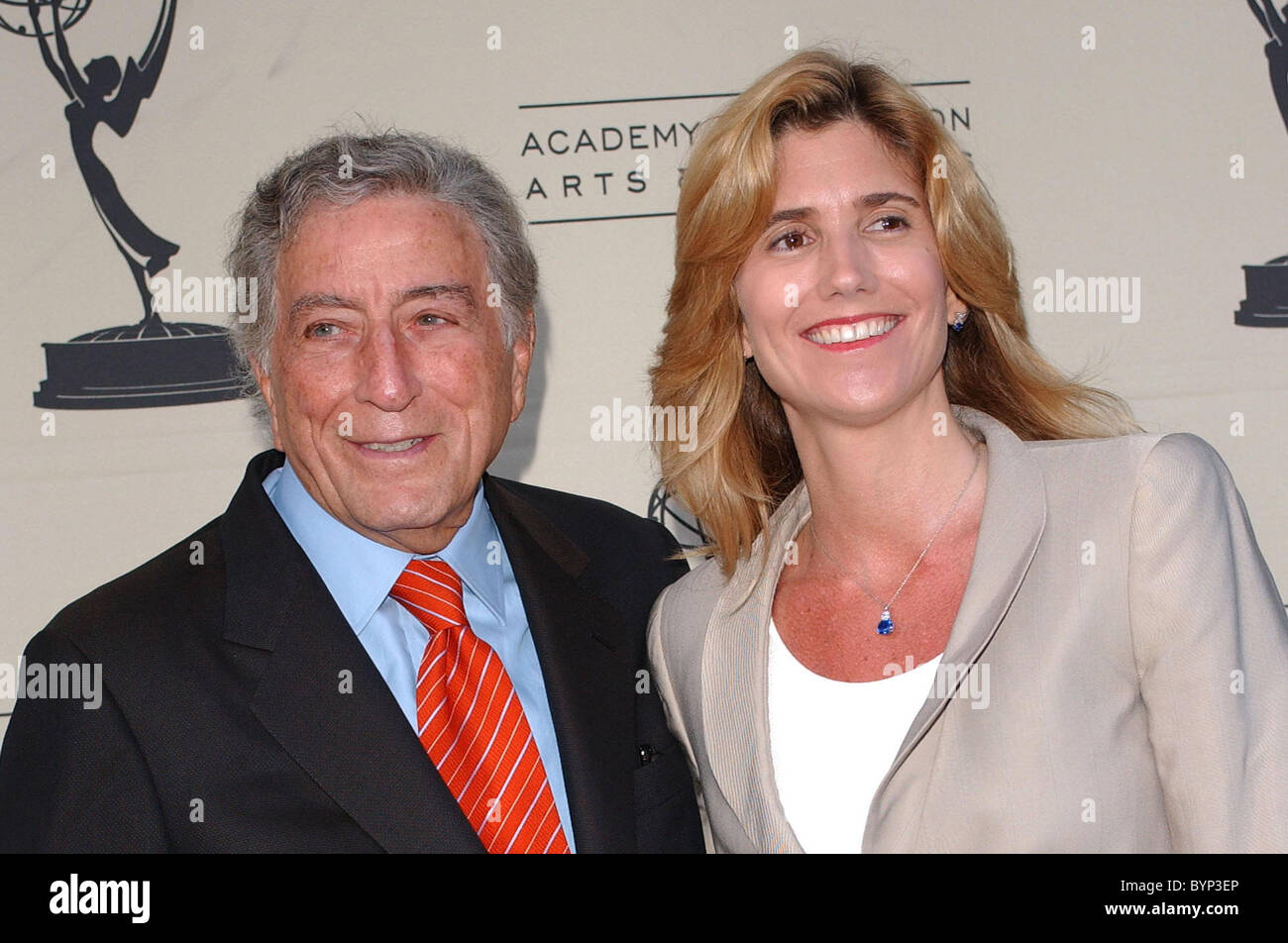 Tony Bennett and Susan Crow The Academy of Television Arts and Science Presents Tony Bennett: An American Classic - Stock Image