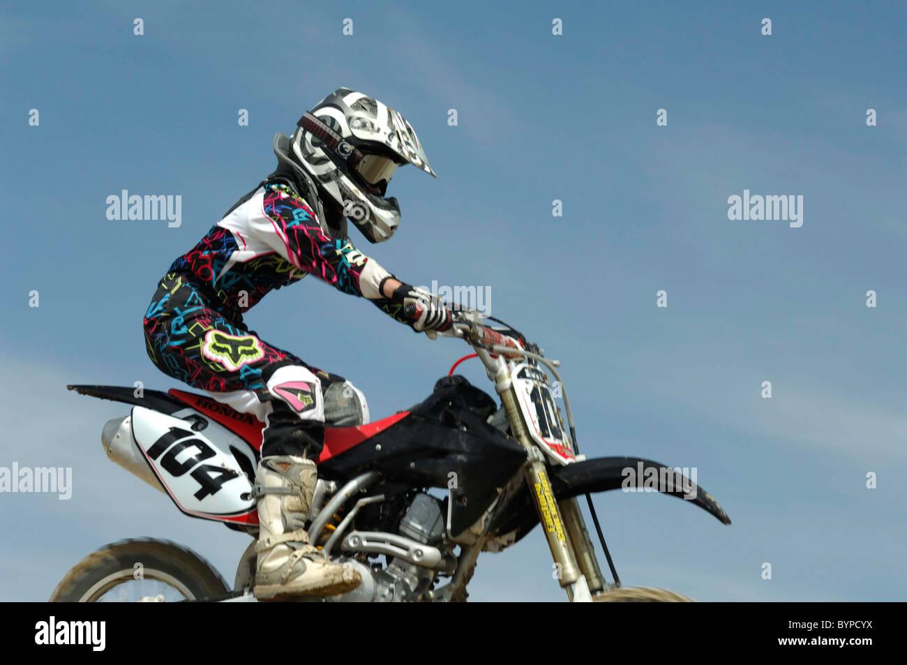 Motocross Motocross Racing Dirt Bike Dirtbike Stock Photo Alamy