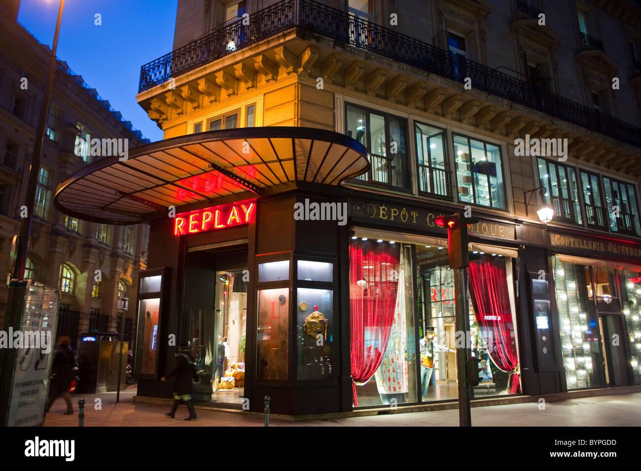 sale retailer ca786 f83c8 Paris, France, Shopping, Replay SHop, Trendy Clothes ...