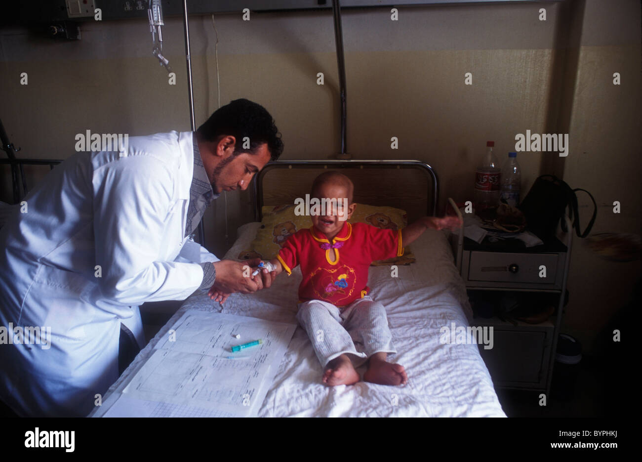 basra hospital doctor treating child with leukemia, possible causedbasra hospital doctor treating child with leukemia, possible caused by radiation poisoning