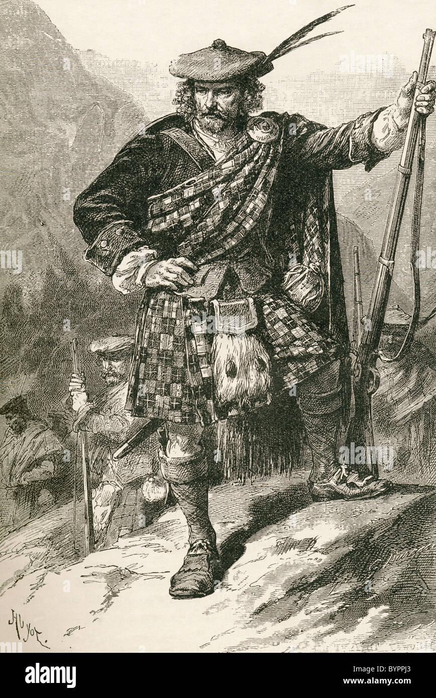 Highland Chieftain - Stock Image