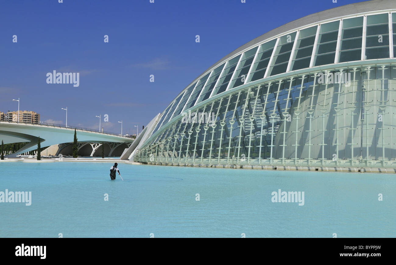 City of Arts and Sciences - Valencia, Spain - Stock Image