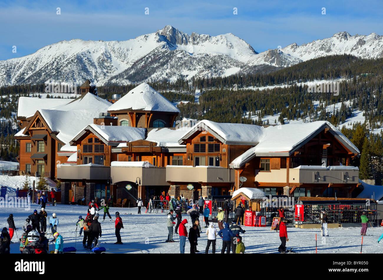big sky resort montana stock photos & big sky resort montana stock