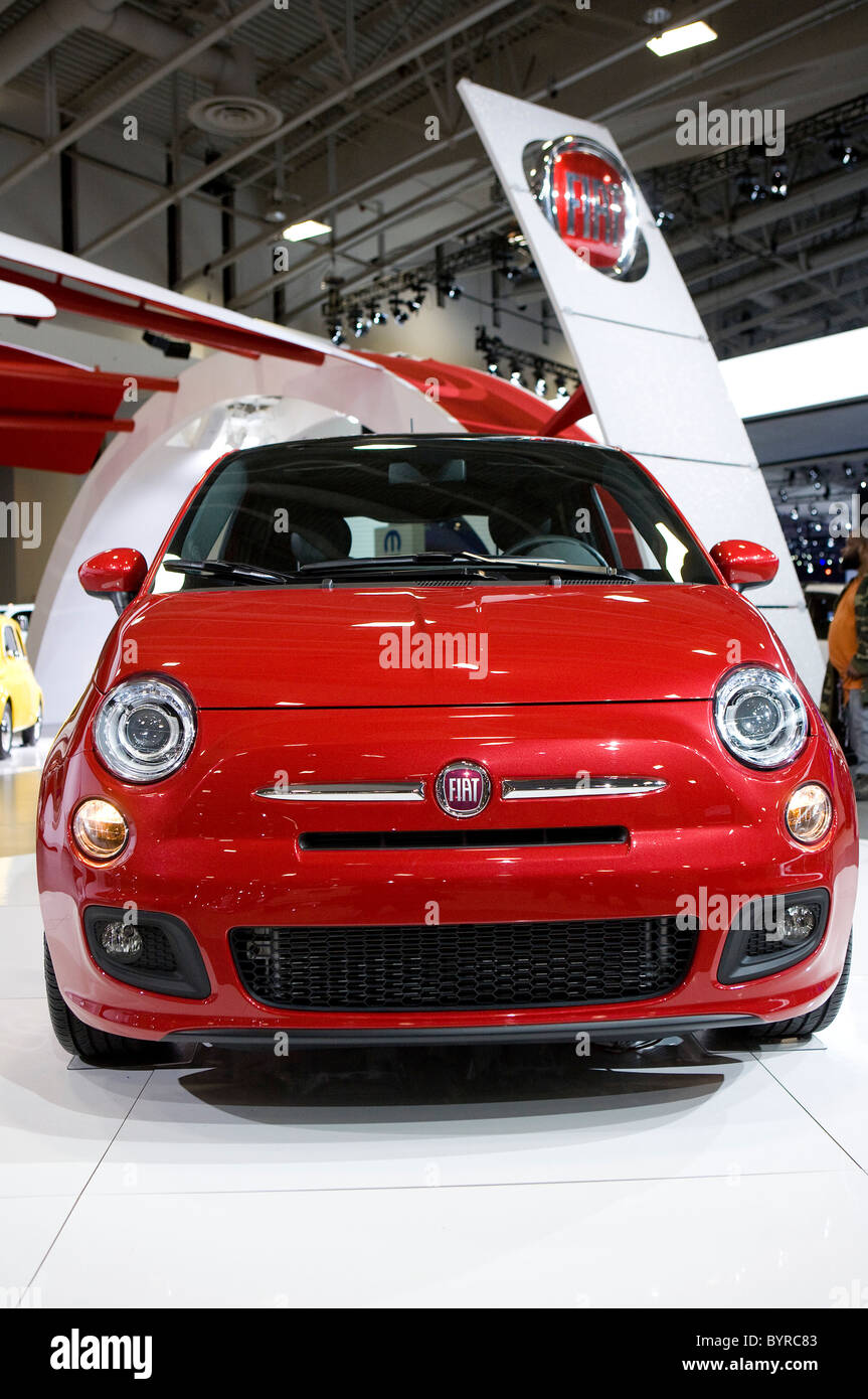 The Fiat 500.  - Stock Image