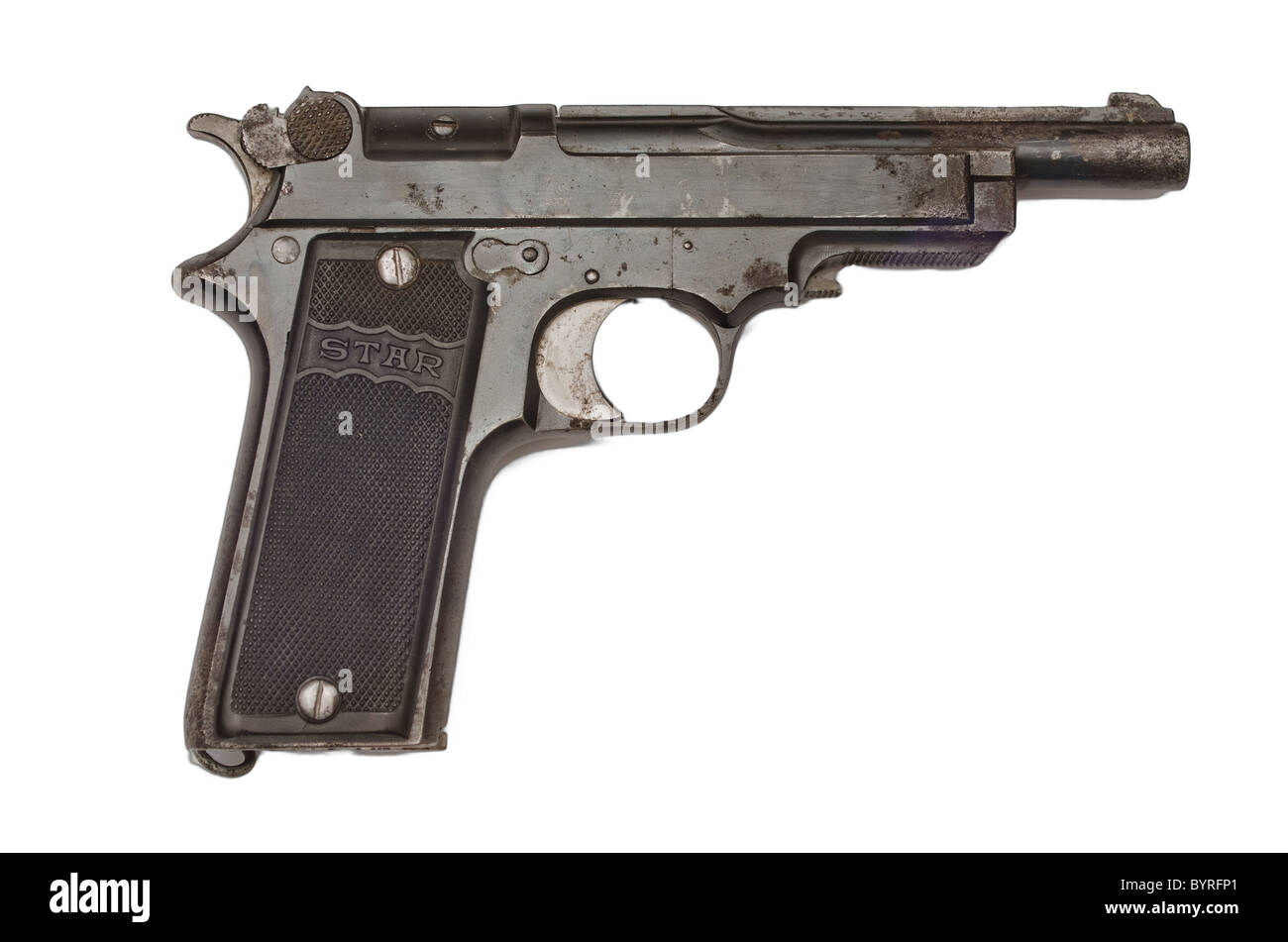 Pistol Cut Out Stock Images & Pictures - Alamy