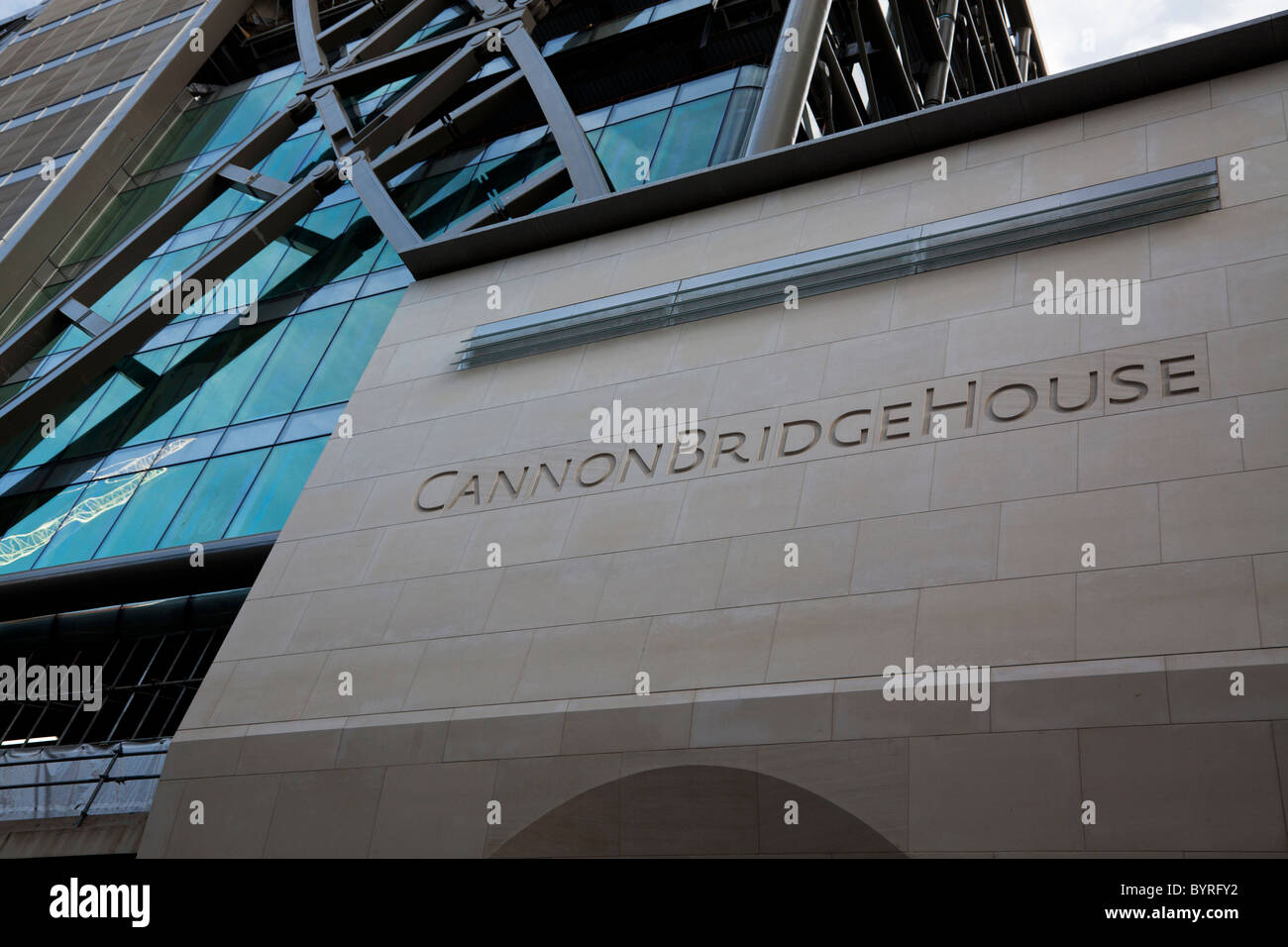 Cannon Bridge House home to NYSE Liffe, London, United Kingdom - Stock Image