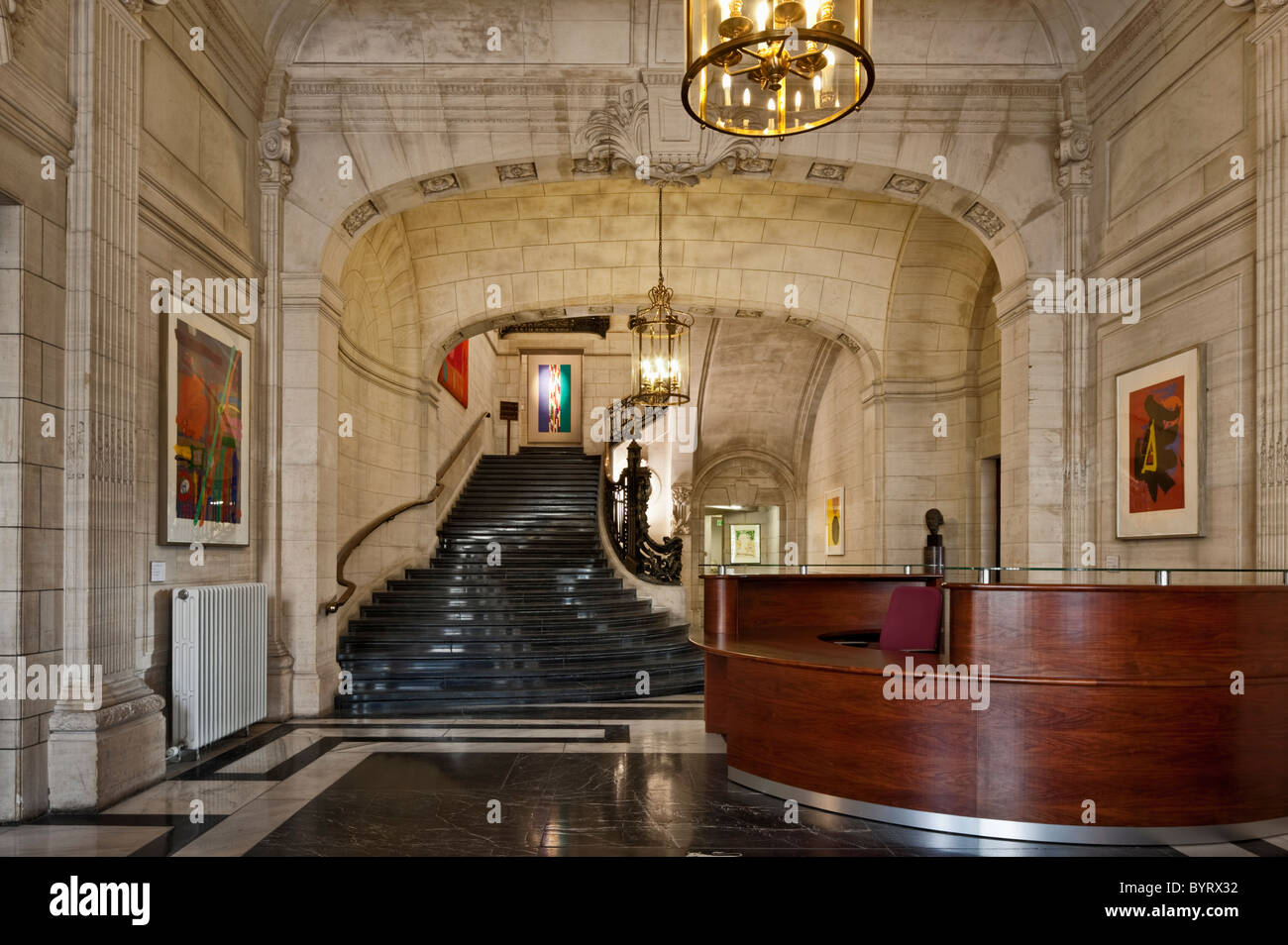 The British Academy At Carlton House Terrace A Former Residence Of Stock Photo Alamy