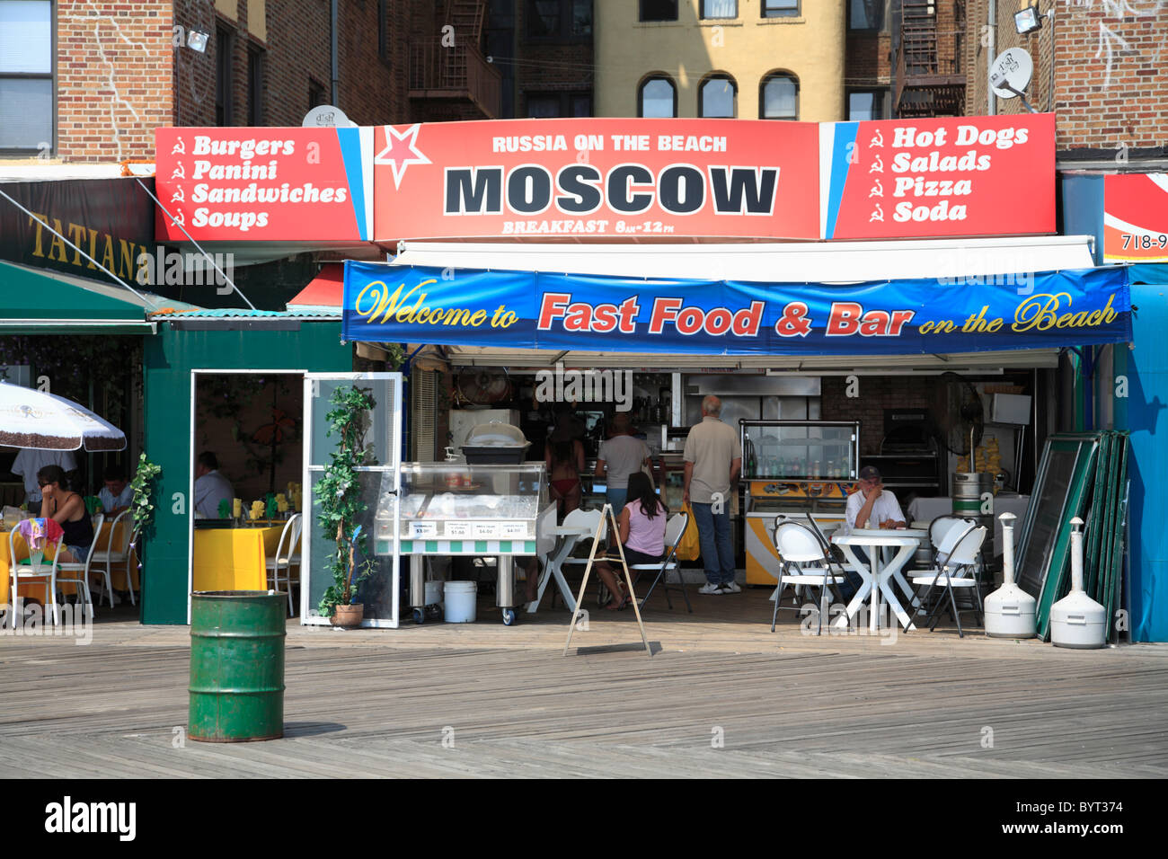 Coney Island Restaurants Nyc