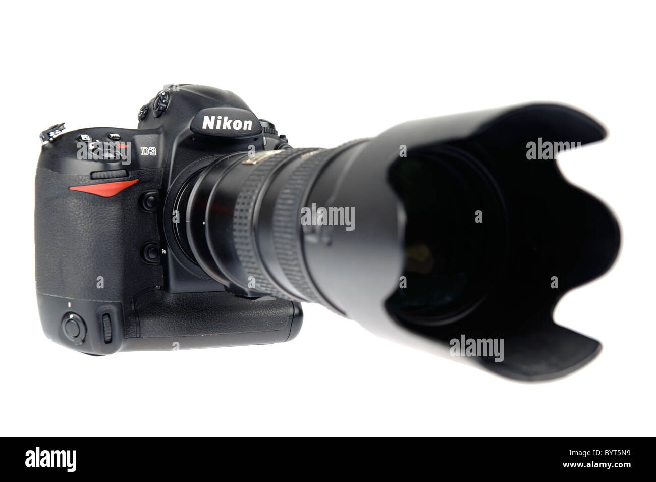 Nikon D3 full frame digital camera DSLR with Nikkor 70-200mm f/2.8 ...