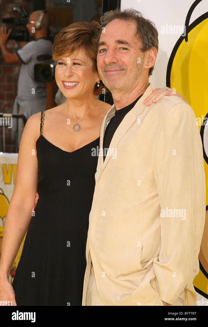 Yeardley Smith Voice Of Lisa Simpson And Harry Shearer The Stock Photo Alamy