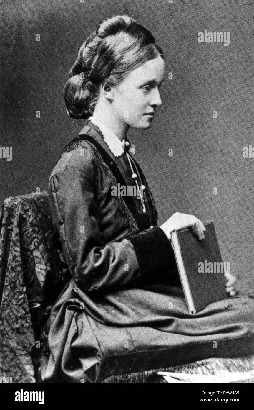 MILLICENT FAWCETT (1847--1929) English suffragette - Stock Image