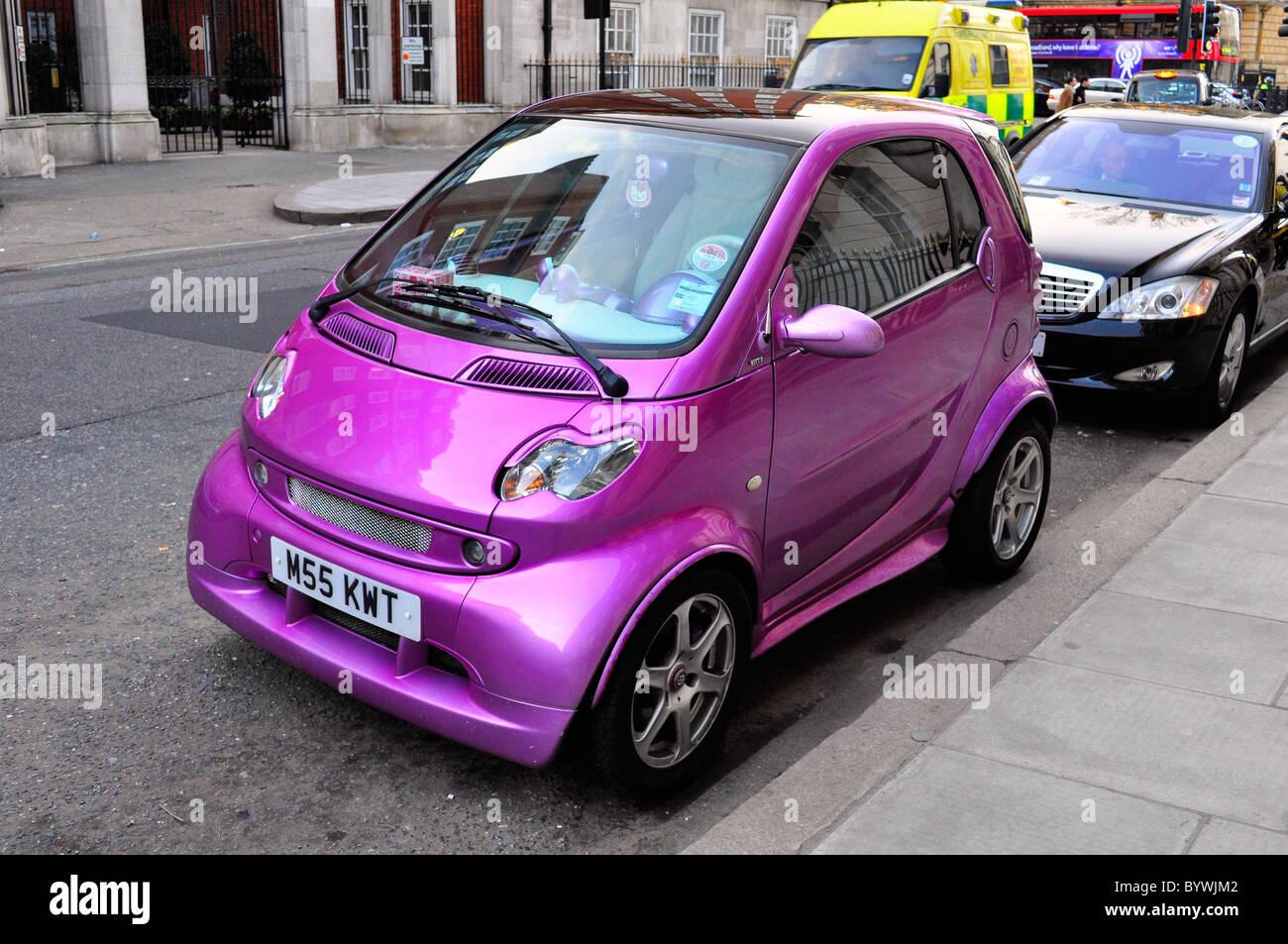 Pink Car Stock Photos Pink Car Stock Images Alamy